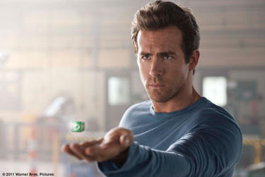 Ryan Reynolds as Hal Jordan in ``Green Lantern.&#39;&#39;